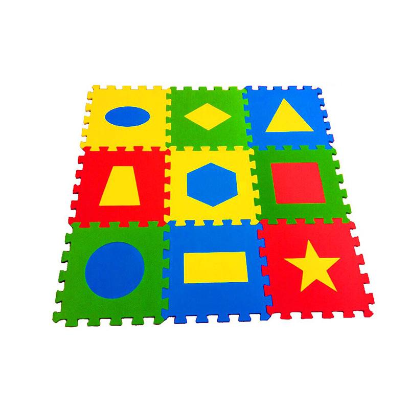 Мягкий пол универсальный «Геометрия» 33x33